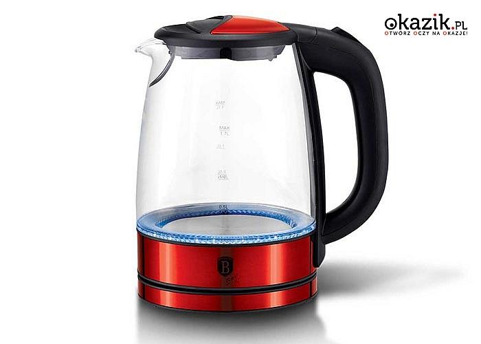 Elegancki i nowoczesny czajnik elektryczny firmy Berlinger Haus wpasuje się w design każdej kuchni