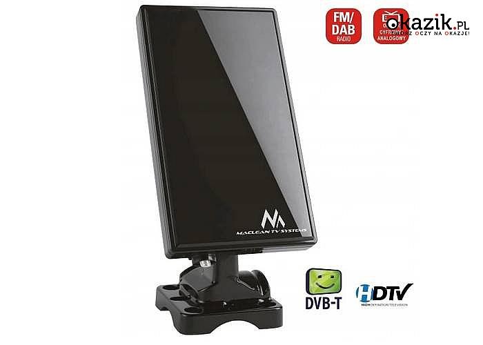 Cyfrowa antena telewizyjna MCTV-970 to najlepsze przenośne rozwiązanie dla domu do odbioru cyfrowej telewizji