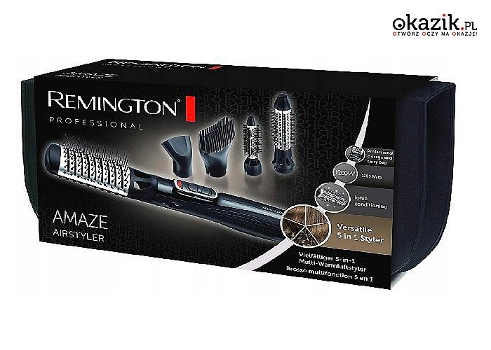 Królowa wszystkich suszarko-lokówek Remington, jest najlepszym przyrządem do tworzenia wspaniałych fryzur