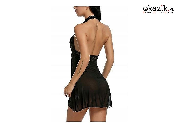 Seksowna, kobieca, a jednocześnie bardzo komfortowa koszulka pełna lekkości i zwiewności