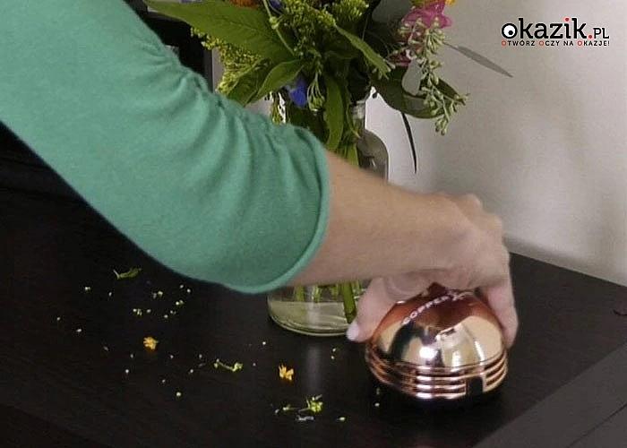 Mini odkurzacz ręczny Copper Chef - nie umknie Ci żaden okruszek