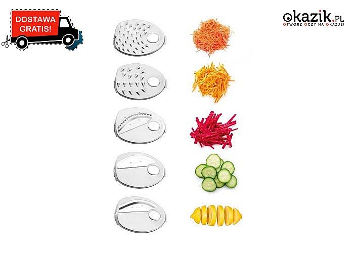 Szatkownica ES1010 firmy Concept na zawsze uwolni cię od mozolnego krojenia i rozdrabniania