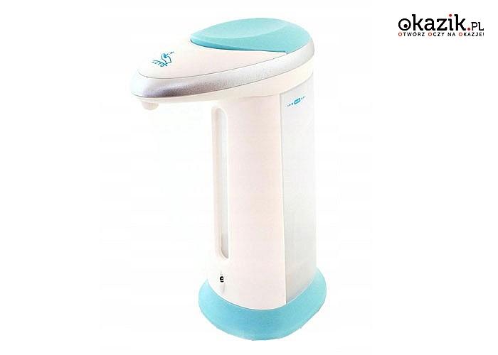 Bezdotykowy ,automatyczny , w pełni higieniczny dozownik do mydła i innych płynów, z wbudowany czujnik podczerwieni IR!