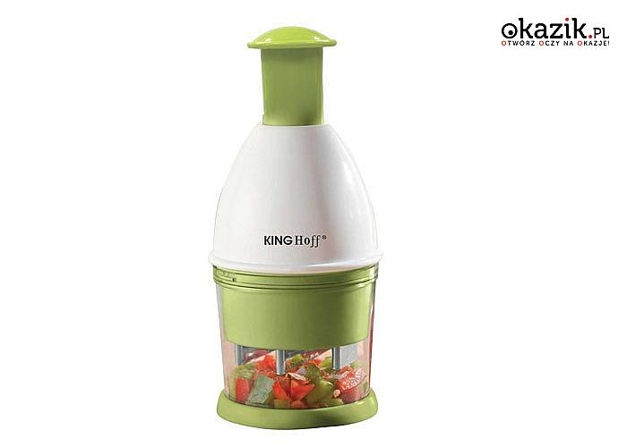 Siekacz ,rozdrabniacz do cebuli oraz innych warzyw. Nieskomplikowany w użytkowaniu