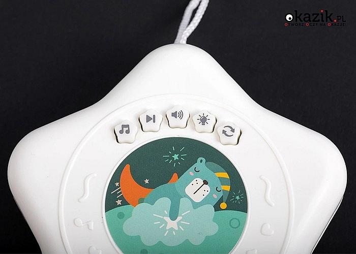 Karuzela do dziecięcego łóżeczka! Idealna pozytywka, która przyciąga uwagę niemowląt!