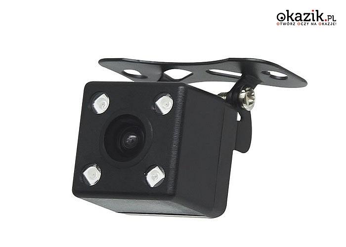 Kamera cofania jest systemem przeznaczonym dla pojazdów silnikowych. Sprawdza on przestrzeń za pojazdem.