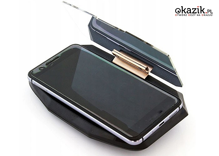 Wyświetlacz przezierny do smartfona tzw. HUD to doskonałe rozwiązanie dla wszystkich osób zmotoryzowanych