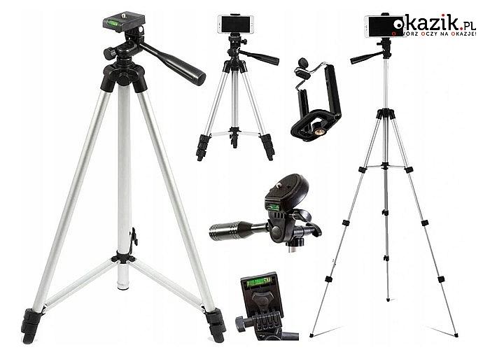Statyw tripod pozwoli wykonać w łatwy sposób profesjonalne zdjęcia