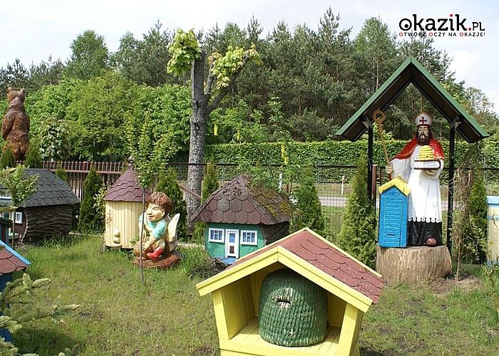 Jesień w Dworze Bartnika w Narewce wspaniały azyl przyrodniczy miejsce, które urzeka swym pięknem i magią