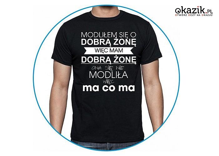 Koszulka z nadrukiem zdecydowanie potrafi zmienić każdą nudną i standardową stylizację w coś naprawdę wystrzałowego.