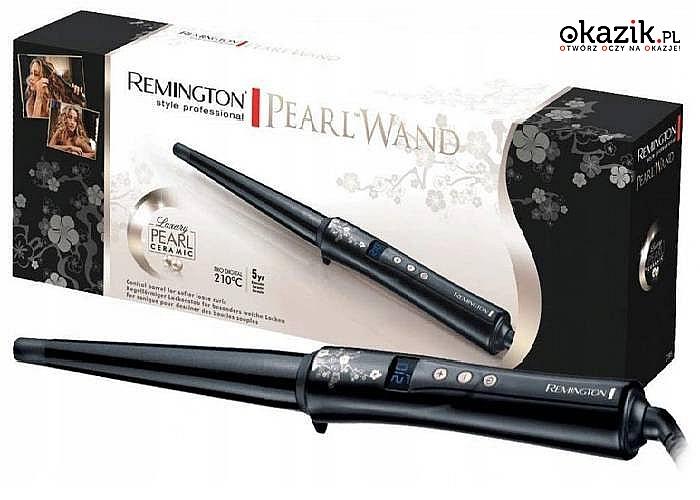 Piękne włosy w każdej chwili z lokówka stożkową Remington