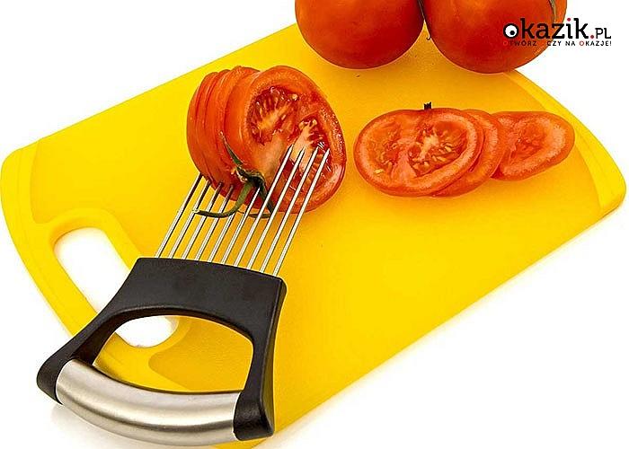 Chwytak do krojenia warzyw! Idealny także jako nakłuwacz do mięsa.