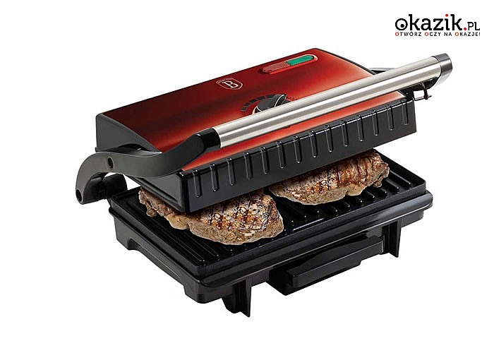 Grill elektryczny to alternatywa dla klasycznego grilla, możesz grillować mięso i warzywa w domu niezależnie od sezonu