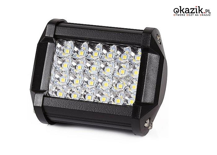 Lampa robocza zapewnia mocne oświetlenie i doskonały efekt wizualny -zamienia noc w dzień