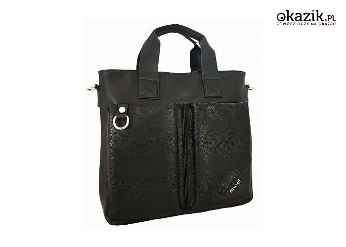 Wielofunkcyjna torebka Monnari z kieszeniami niech przekona Cię swoja przestronnością i atrakcyjnym wygladem