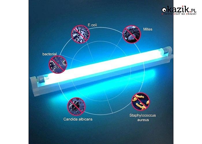 Lampa UV przeznaczone są do podniesienia i utrzymania poziomu czystości mikrobiologicznej pomieszczeń