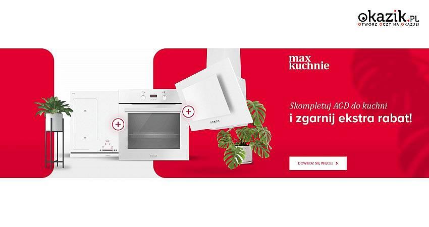 W Max Kuchnie sprzęty Gorenje kupujesz od 1 zł!
