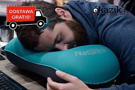 Zajmuje mało miejsca w pakowaniu. Gwarantuje komfortowy sen! (60 zł)