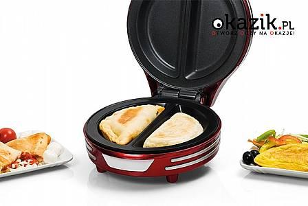 Urządzenia kuchenne marki Ariete: przygotuj samodzielnie naleśniki, omlety, samosę, tortille i inne dania! (od 125 zł)