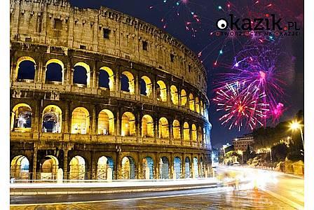 Sylwester w Rzymie! Przejazd autokarem LUX!2 śniadania! Sylwester w centrum miasta! Opieka pilota!