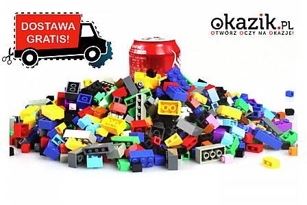 Rozwiń kreatywność swojego dziecka! Komplet 1000 klocków Bainily! Kompatybilne z lego!
