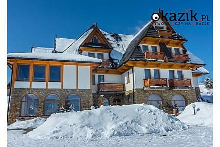 Ząb k. Zakopanego! Redyk Ski&Relax! Wyżywienie! Nielimitowany dostęp do strefy SPA! Pokoje z widokiem na Tatry! Rabaty!
