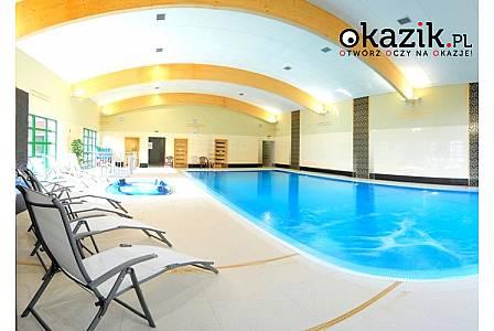 Jesień w Warmińsko-Mazurskim! Hotel Miłomłyn Zdrój***! Wyżywienie! Możliwość korzystania z basenu, saun oraz jacuzzi!