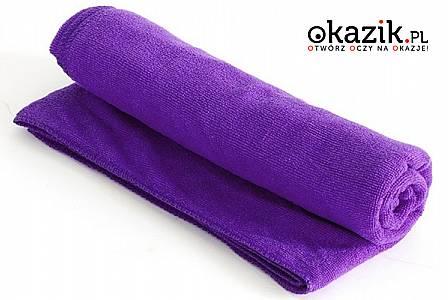 OKAZJA! Super chłonny i szybko schnący ręcznik z mikrofibry.