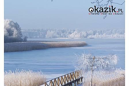 ZIELONY DOMEK nad jeziorem Juno W MRĄGOWIE na zimę i wiosnę. Łódki, kajaki i bilard nieograniczone!