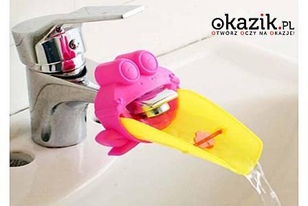 Zabawa przy myciu rąk! Przedłużka kranu dla dziecka