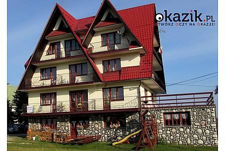 3-, 4-, 5- lub 6-dniowy pobyt na WIELKANOC lub MAJÓWKĘ dla 2 osób w Domu Wypoczynkowym U Wajdy w Białce Tatrzańskiej