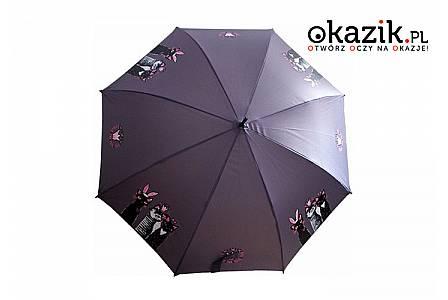 Stylowy a przy tym mocny parasol  Magic Cats marki DOPPLER