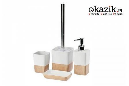 Niezwykłe zestawy łazienkowe! Delikatne kolory i proste kształty! Idealne do każdego wystroju łazienki!
