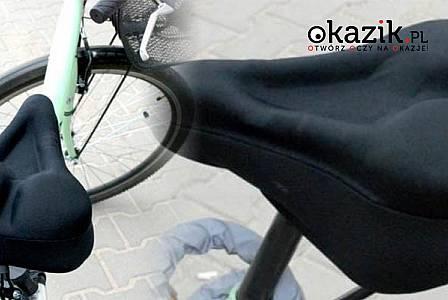 Amortyzująca nakładka na siodełko umili Ci jazdę na rowerze!