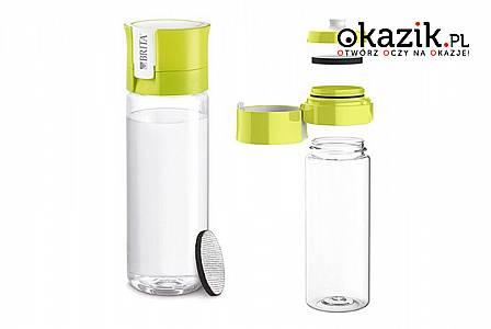 Butelka filtrująca wodę fill&go Vital marki BRITA: oczyszcza i poprawia smak wody