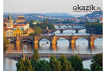 Weekend w Pradze! Nocleg ze śniadaniem w hotelu ! Autokar klasy LUX! Opieka pilota!