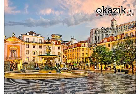 Niezapomniana wycieczka do Lizbony samolotem! 3 noclegi w hotelu ze śniadaniami! Opieka pilota! Zwiedzanie wg programu!