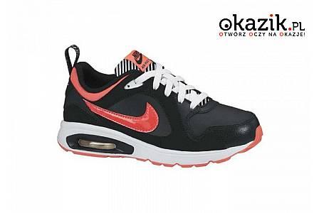 Wygodne i oryginalne! Młodzieżowe buty Nike Air Max Trax (PS)! Skóra naturalna! Najwyższa jakość wykonania!