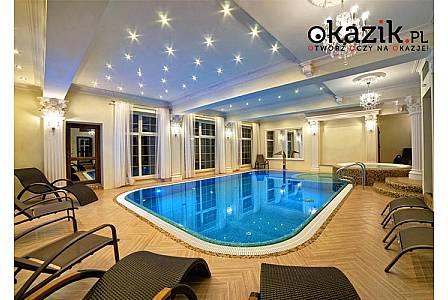 Luksusowe noclegi podczas pobytu dla 2 osób w Hotelu**** SOLAR PALACE SPA&WELLNESS W MRĄGOWIE