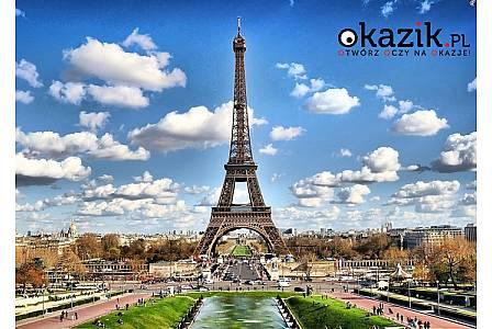 Paryż + Eurodisneyland lub Wersal! 4-dniowy pobyt! Hotel 3 noclegi i 3 śniadania! Przelot samolotem! Opieka pilota!
