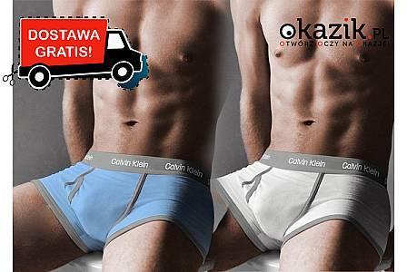 Najwyższej jakości materiał! Zestaw 10 sztuk bokserek męskich Calvin Klein
