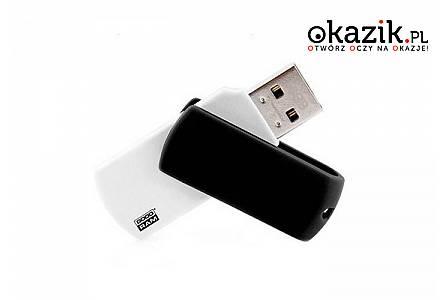 PENDRIVE GoodRam Colour w wersji Black & White. Pojemność 16 GB lub 8 GB