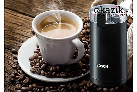 Młynek elektryczny do mielenia kawy Bosch MKM 6003! Pozwala na zmielenie do 150g kawy w ciągu jednej minuty!
