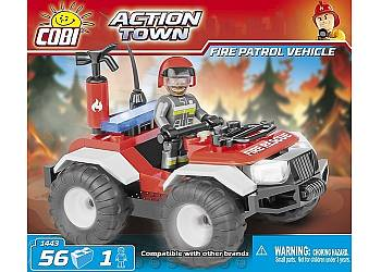 Action Town Patrol Straży Pożarnej 56 elementów