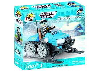 Action Town Policyjny skuter śnieżny, 100 elementów