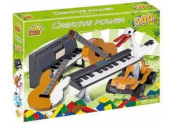 Creative Power 500 elementów Instrumenty, Bocian