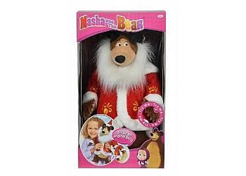 Masza i Niedźwiedź - Świąteczny Misza, 43 cm