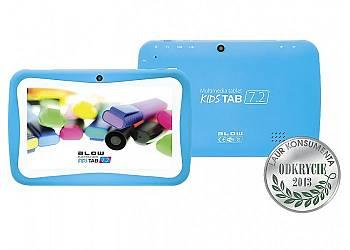 Tablet kids TAB 7'' QUAD CORE BLUE + etui
