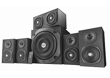 Drewniane głośniki 5.1