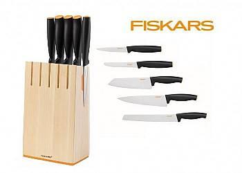 Zestaw 5 noży w bloku Functional Form  1014211